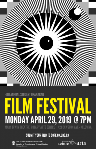 4th Annual Student Okanagan Film Festival