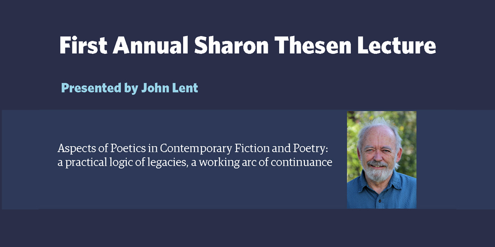 Sharon Thesen Lecture with John Lent