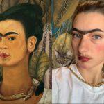 Kneale, Courtney: Frida Kahlo'sSelf Portrait with Monkey