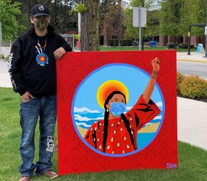 Local Indigenous artist contributes to UBCO's public art collection
