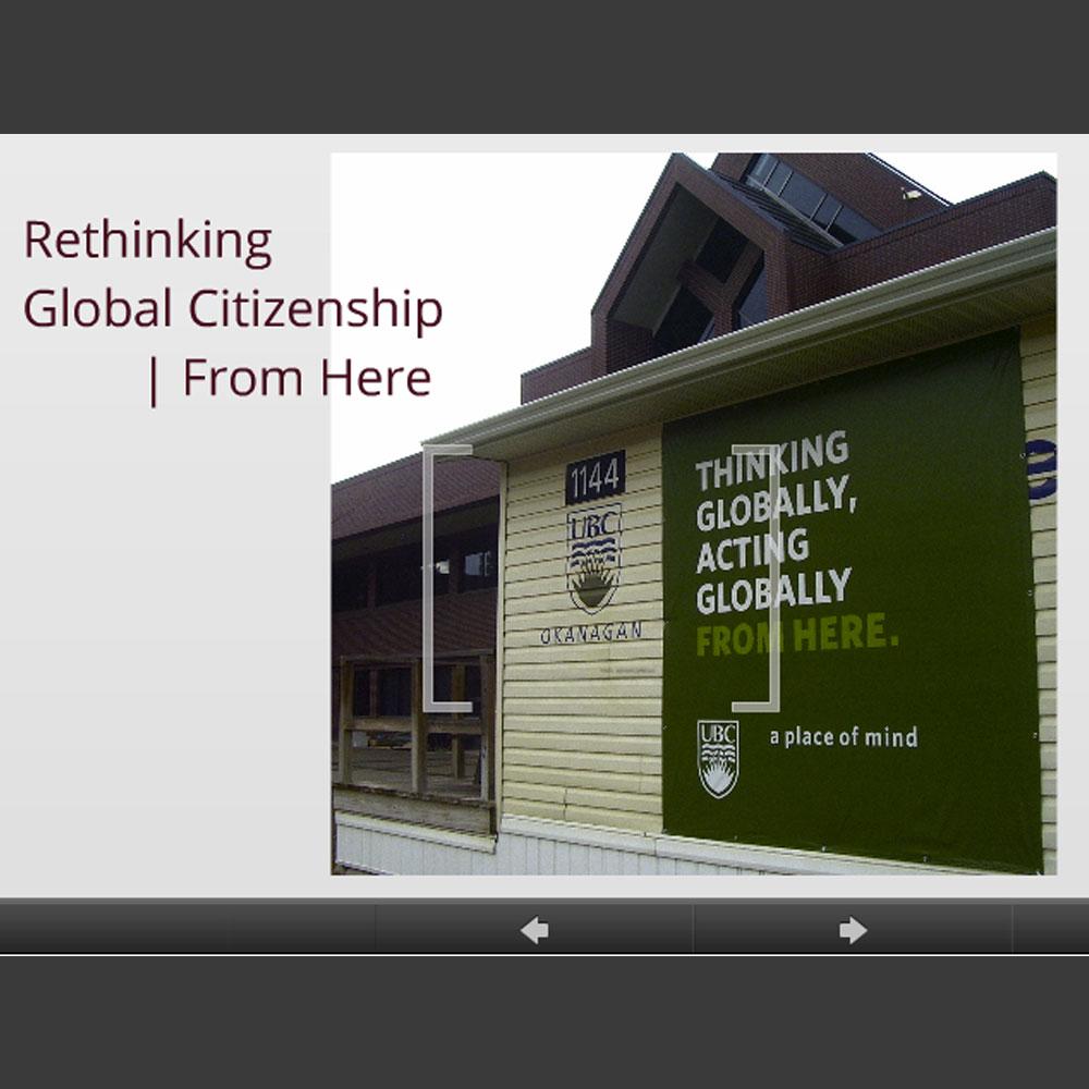 Rethinking Global Citizenship